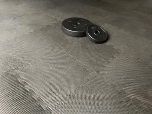 Puzzlematten Boden Homegym Bodenbelag Fitnessraum