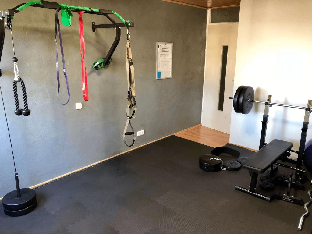 Homegym Fitnessraum