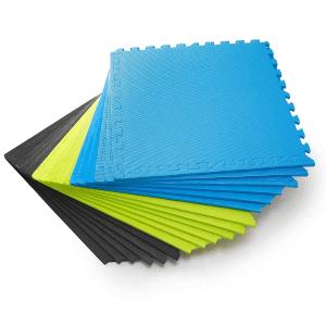 Puzzlematte farbig